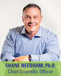 Shane Needham, Co-Founder and Chief Scientific Officer