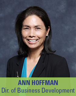 Ann Hoffman, Director of Business Development