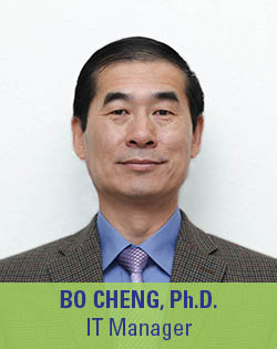 Bo Cheng, IT Manager
